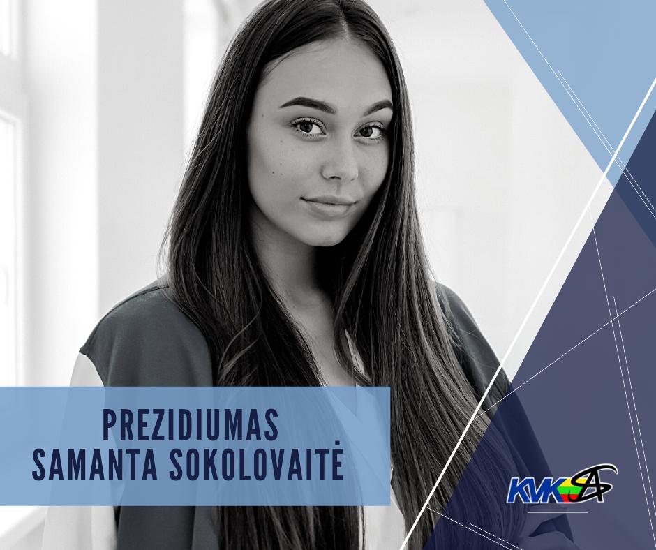 Prezidiumas - Samanta Sokolovaitė