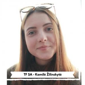 Technologijų fakulteto Studentų atstovybė - Kamilė Žilinskytė